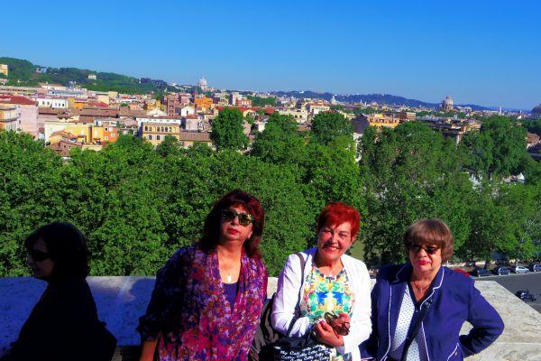Рим, на терасата на Малтийския орден