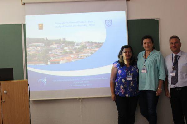 Младите учени на екипа, INSCOSES 2018, Ohrid 14-15 September 2018
