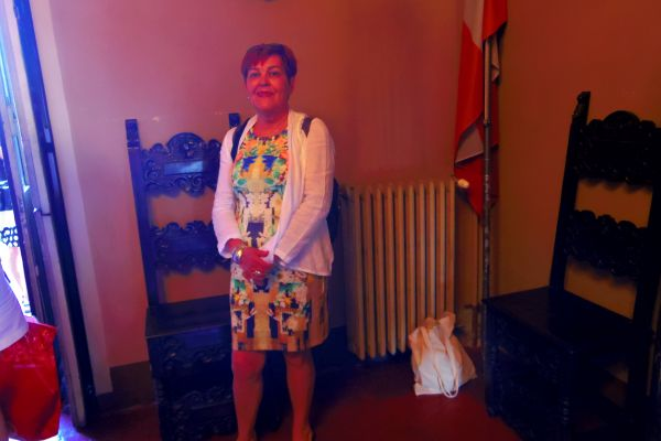 В залата на конференцията в Малтийския орден