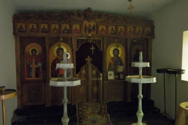 Храм Св. Неделя край Златоград интериор