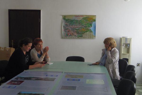 среща на екипа с директора на РИМ-Смолян г-жа Таня Марева