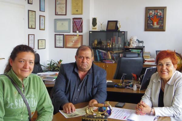 Среща на екипа по проекта с бизнесмена от Златоград г-н Милушев