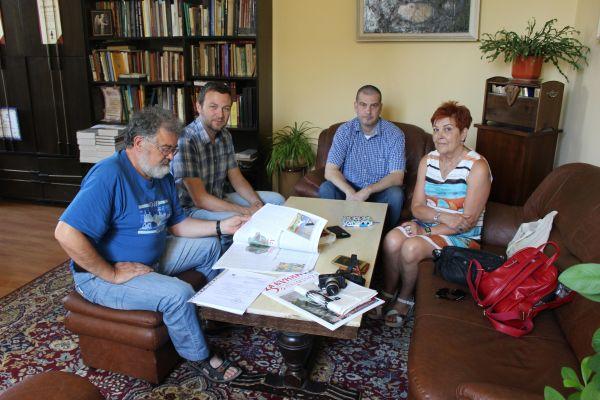 Среща директора на РИМ Варна и уредниците на  Археологическия музей и Аладжа манастир в гр. Варна