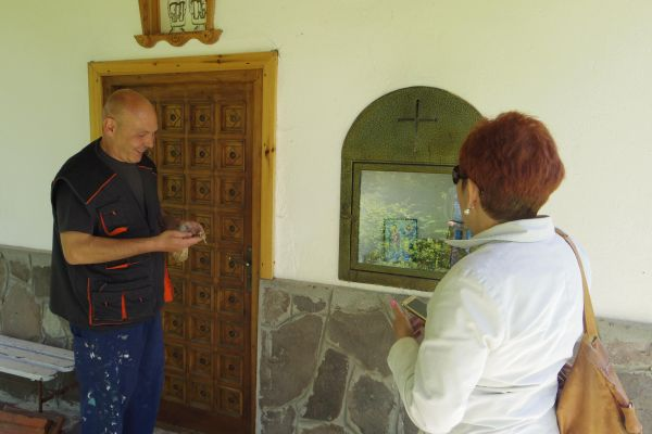 The chapel builder Atanas Ivanov