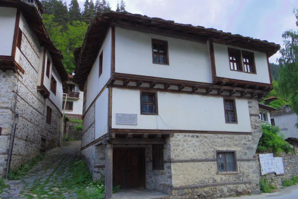 The house where Exarch Stefan was born in Shiroka Luka