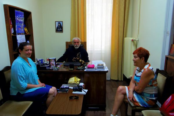 A meeting with Father Dimitar in Varna Holy Metropolitan