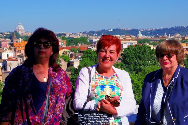 Rome, on the terrace of the Maltese Order