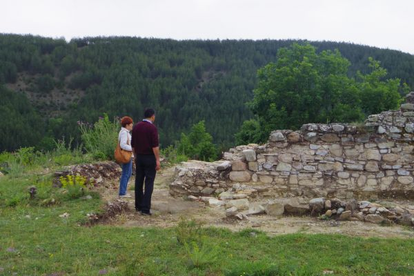 Early-Christian church near Zlatograd