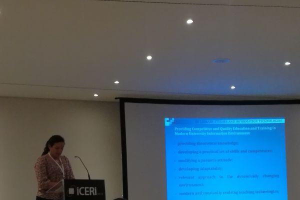 ICERI 2018 – Paper presentation