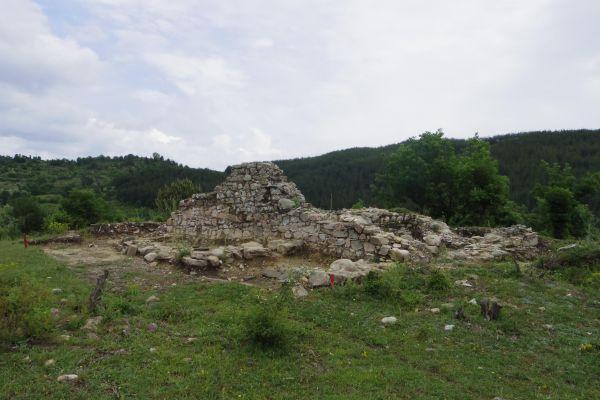 Remains of an Early-Christian church near Zlatograd