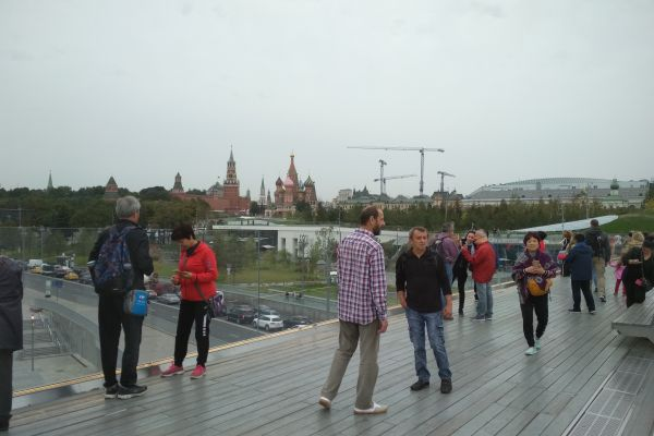 View to The Kremlin and the temples