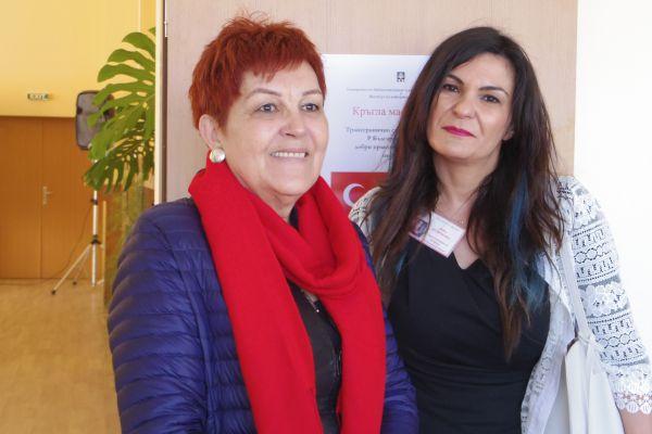 With the Editor-In-Chief of the Kraygranichna Iskra Newspaper – Ms. Lora Velichkova