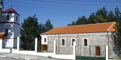 The temple of Holy Mother's Ascension , Golyamo Krushevo village