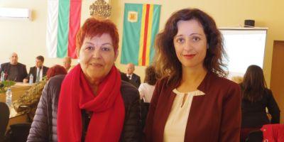 With the Deputy-Mayor of Bolyarovo Ms. Nina Terzieva