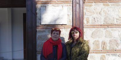Членове на екипа пред българската църква Св.Св.Константин и Елена в Одрин
