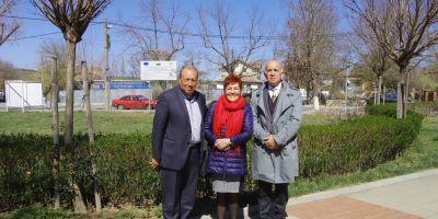 Членове на екипа с кмета на Болярово г-н Христо Христов